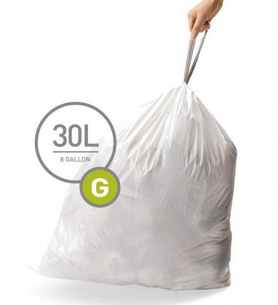 Simplehuman Code G Doos Afvalzakken 30 Liter - 100 zakken