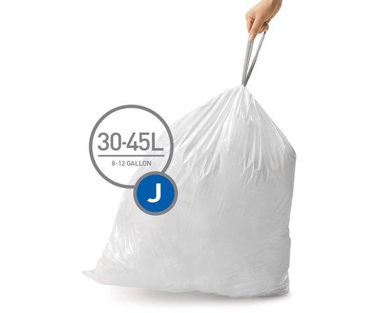 Simplehuman Code J Doos Afvalzakken 30-45 Liter - 100 zakken
