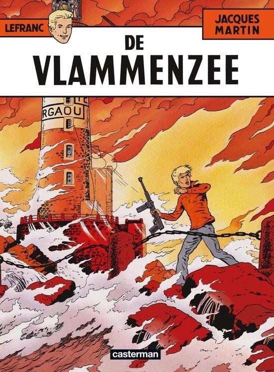 Lefranc 002 De vlammenzee - Jacques Martin |