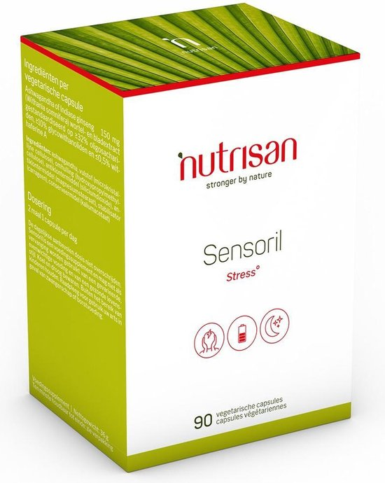 Nutrisan Sensoril Vegetarische Capsules Stress 90capsules