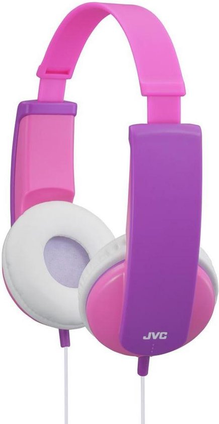 JVC HA-KD5 - On-ear kinder koptelefoon - Roze/Paars