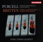 Doric String Quartet - Britten String Quartets 1-3 Three D