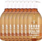 Savon Le Naturel Savon Vloeibare Natuurlijke Handzeep - Oranjebloesem - 8 x 500ml - Multiverpakking