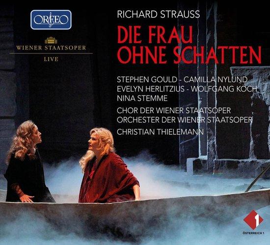 CD cover van Die Frau Ohne Schatten Trv 234 van Orchester Und Chor der Wiener St