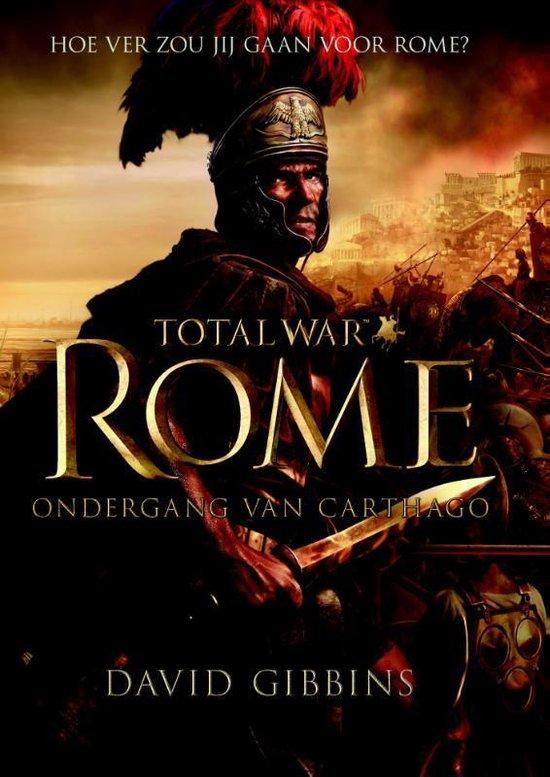 Boek cover Total war Rome van David Gibbins (Paperback)