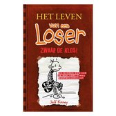 Boek cover Het leven van een loser 7 -   Zwaar de klos van Jeff Kinney (Hardcover)