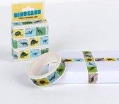 Washi tape met dinosaurussen