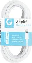 GnG Grab n Go Lightning naar USB Kabel 2 Meter Wit