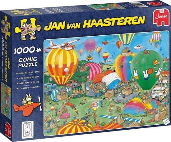 Afbeelding van Jan van Haasteren Hoera! Nijntje 65 Jaar Legpuzzel 1000 Stukjes