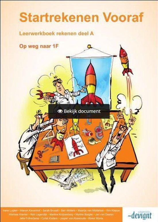 Startrekenen Vooraf - Op weg naar 1F - Leerwerkboek deel A - Irene Lugten | Fthsonline.com