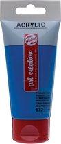 Talens Art Creation acrylverf tube van 75 ml, primaircyaan