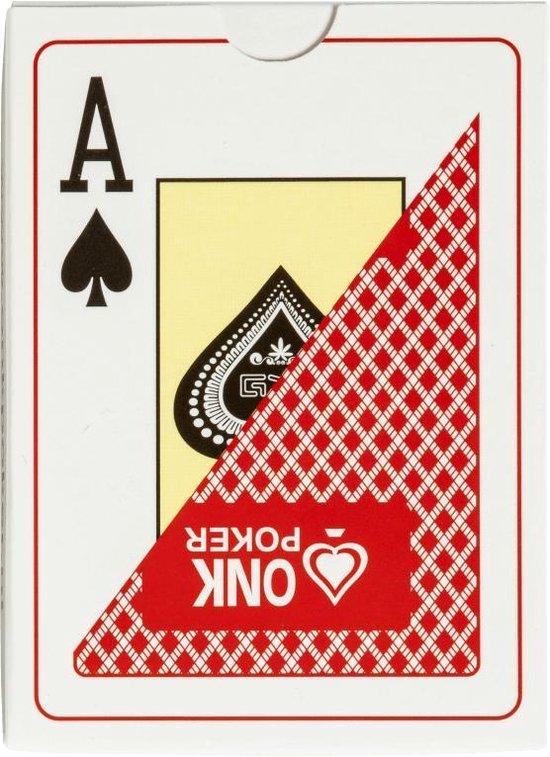Afbeelding van het spel Professionele ONK Poker Kaarten Rood