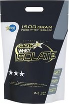 Stacker 2 Whey Isolate Vanille shake- 1,5 kilo - Voedingssupplement