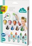 Kleuren in bad 8 pack