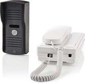 Wired Door Intercom | Unlock function | Weatherproof (IP44) outdoor unit | Works up to 250 m