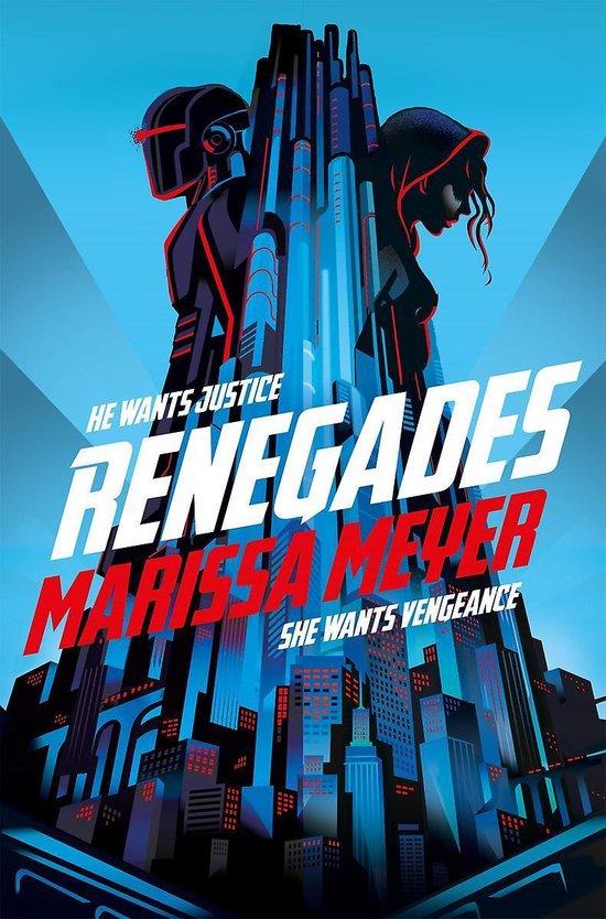 Boek cover Renegades van Marissa Meyer (Paperback)