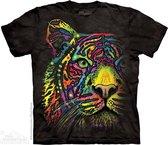 The Mountain KIDS T-shirt Rainbow Tiger Unisex T-shirt M