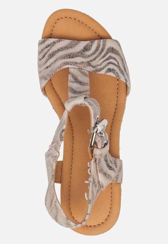 Gabor Comfort Sandalen Met Sleehak Beige - Maat 38 dwGDgE
