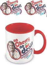 STRANGER THINGS - No Cherry No Deal! - Coloured Inner Mug 315ml