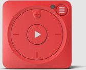Mighty Vibe Spotify Music Player - Mooshu Red - Sports Clip, For Bluetooth and Wired Earph