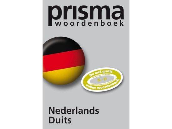 Boek cover Prisma Woordenboek Nederlands Duits van G.A.M.M. van der Linden (Paperback)