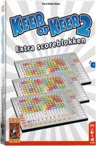 Scoreblokken Keer op Keer 2 drie stuks Level 1 Dobbelspel