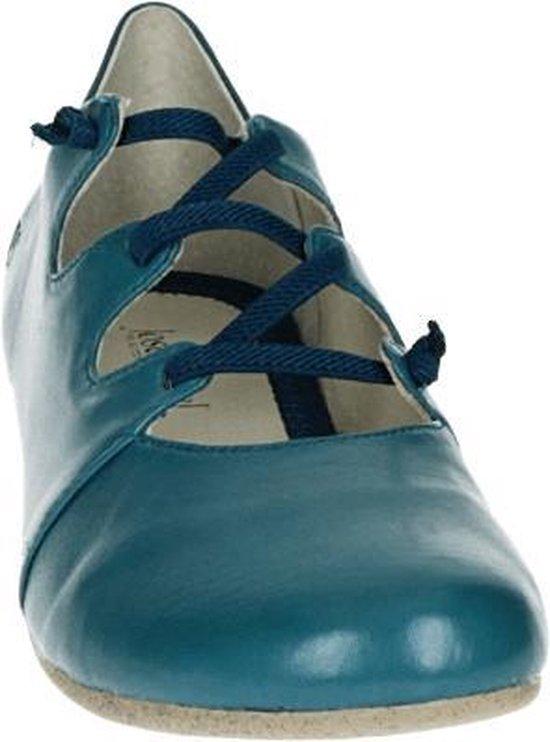 Josef Seibel FIONA 04 - Volwassenen Dames veterschoenen - Kleur: Blauw - Maat: 41