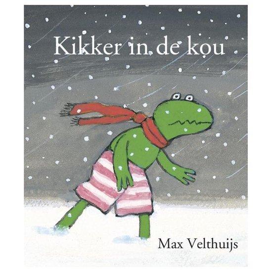 Boek cover Kikker - Kikker in de kou (mini) van Max Velthuijs (Hardcover)