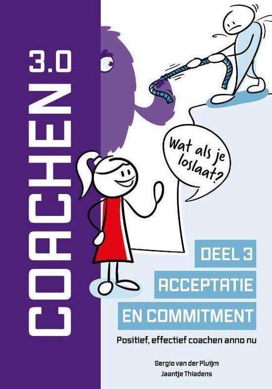 Boek cover Coachen Reeks 3 -   Acceptatie en commitment van Sergio van der Pluijm (Hardcover)
