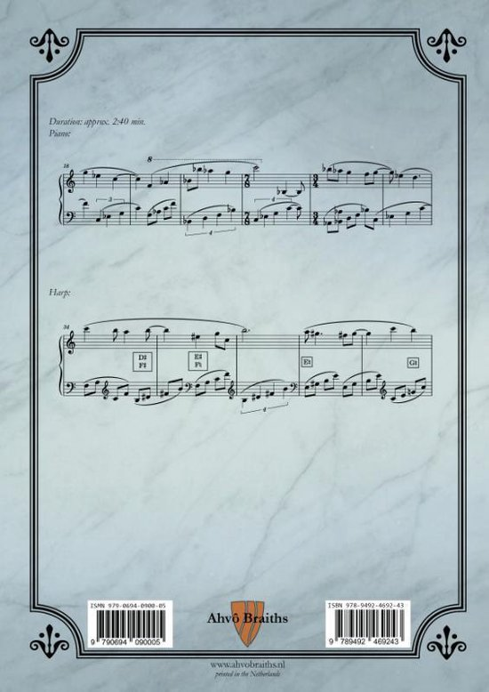 Op. 1b Un petit mystique pour piano