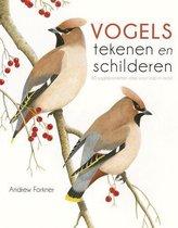 Kosmos Boek - Vogels tekenen & schilderen Andrew Forkner