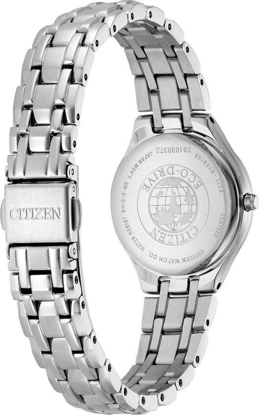 Citizen  EW2480-83A Horloge - Staal - Zilverkleurig - Ø 28 mm