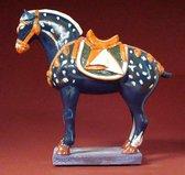 Parastone - Art Chinois Ch03 - Tang Dynasty - Beeldje Blauw paard - Decoratief