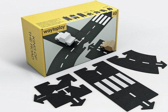 waytoplay King of the Road, de flexibele autobaan (40 delen)
