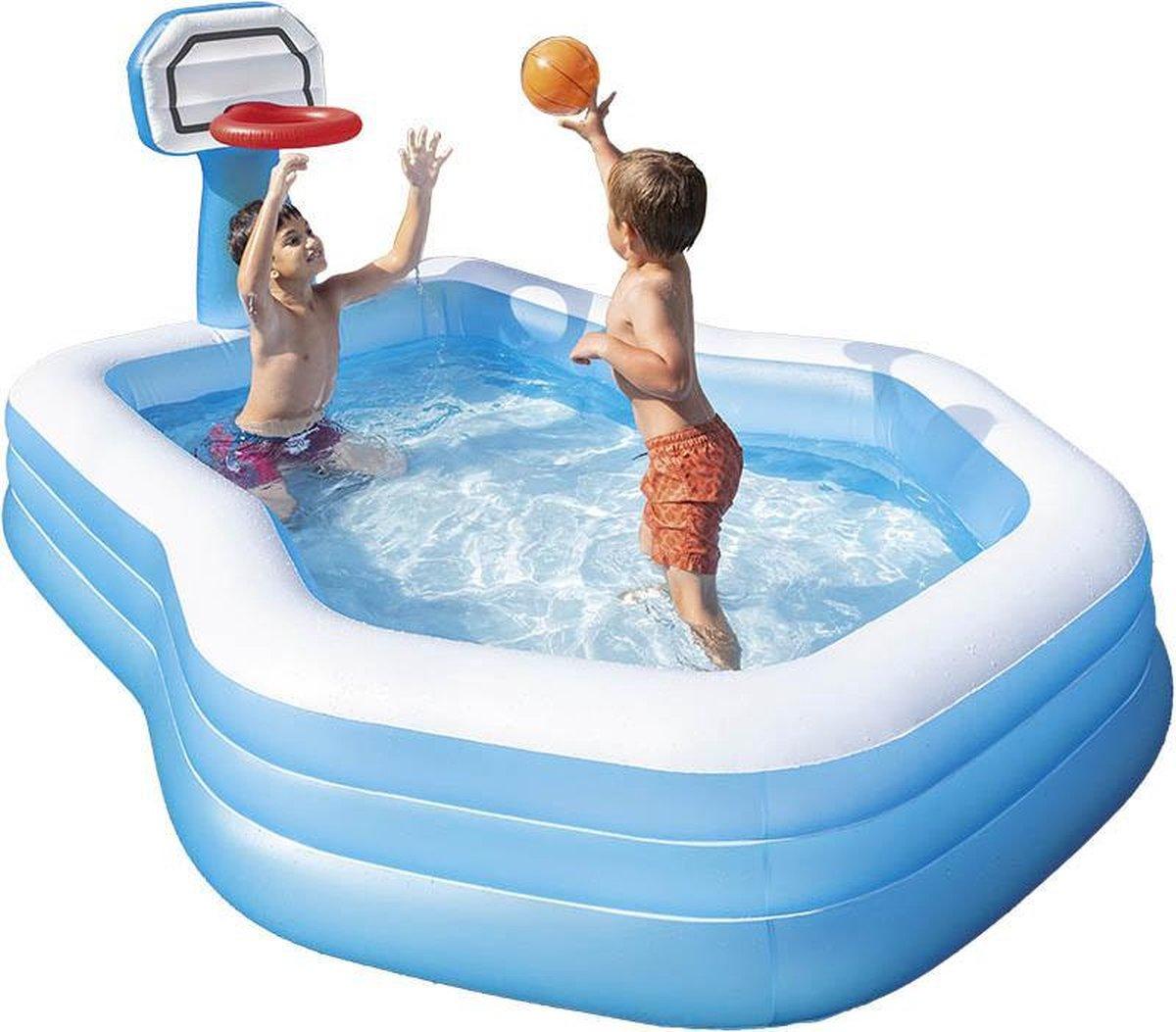 Intex zwembad - zwembaden - zwembad met basketbalring