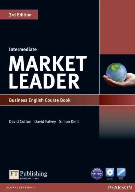 Boek cover Market Leader 3ed - Int coursebook + dvd-rom pack van David Cotton (Paperback)