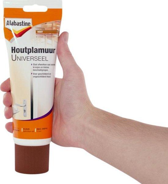Afbeelding van Alabastine Houtplamuur Universeel - 400 gram