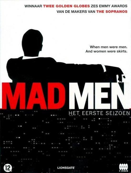Cover van de film 'Mad Men'