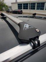 Sorent Modula dakdrager voor alle autos met vaste en geïntegreerde rails