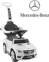 Mercedes GL63 Loopauto - Afneembare duwstang - Wit