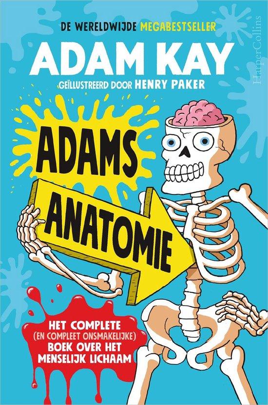 Boek cover Adams anatomie van Adam Kay (Onbekend)