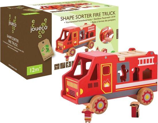 Joueco - Vormenstoof brandweerauto