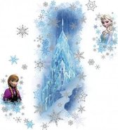 RoomMates Disney Frozen Ice Palace with Else and Anna - Muursticker - 13x46 cm - Multi