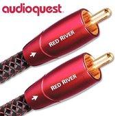 AudioQuest 1m Red River RCA audio kabel Zwart