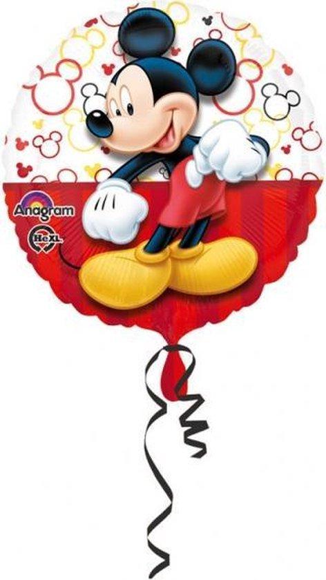 Grote aluminium Mickey™ ballon - Feestdecoratievoorwerp