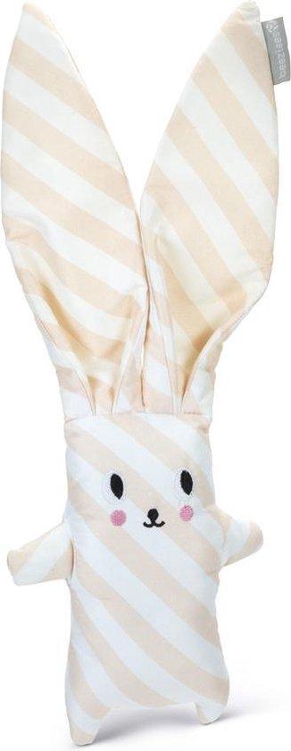 Beeztees Puppy Buddy - Hondenspeelgoed - Roze/Wit - 35 x 15 x 5 cm