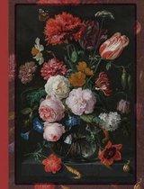 Composition Notebook Vintage Flowers 01