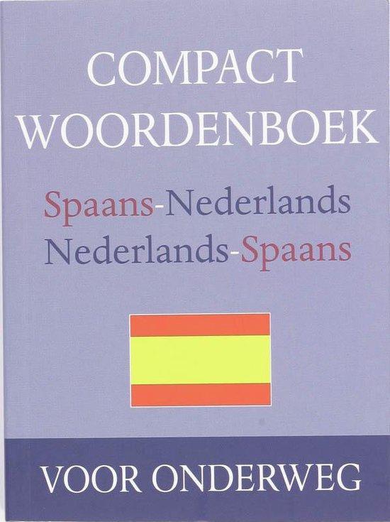Compact woordenboek Spaans - nvt |
