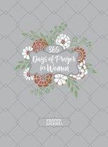 365 Days of Prayer for Women (Prayer Journal)