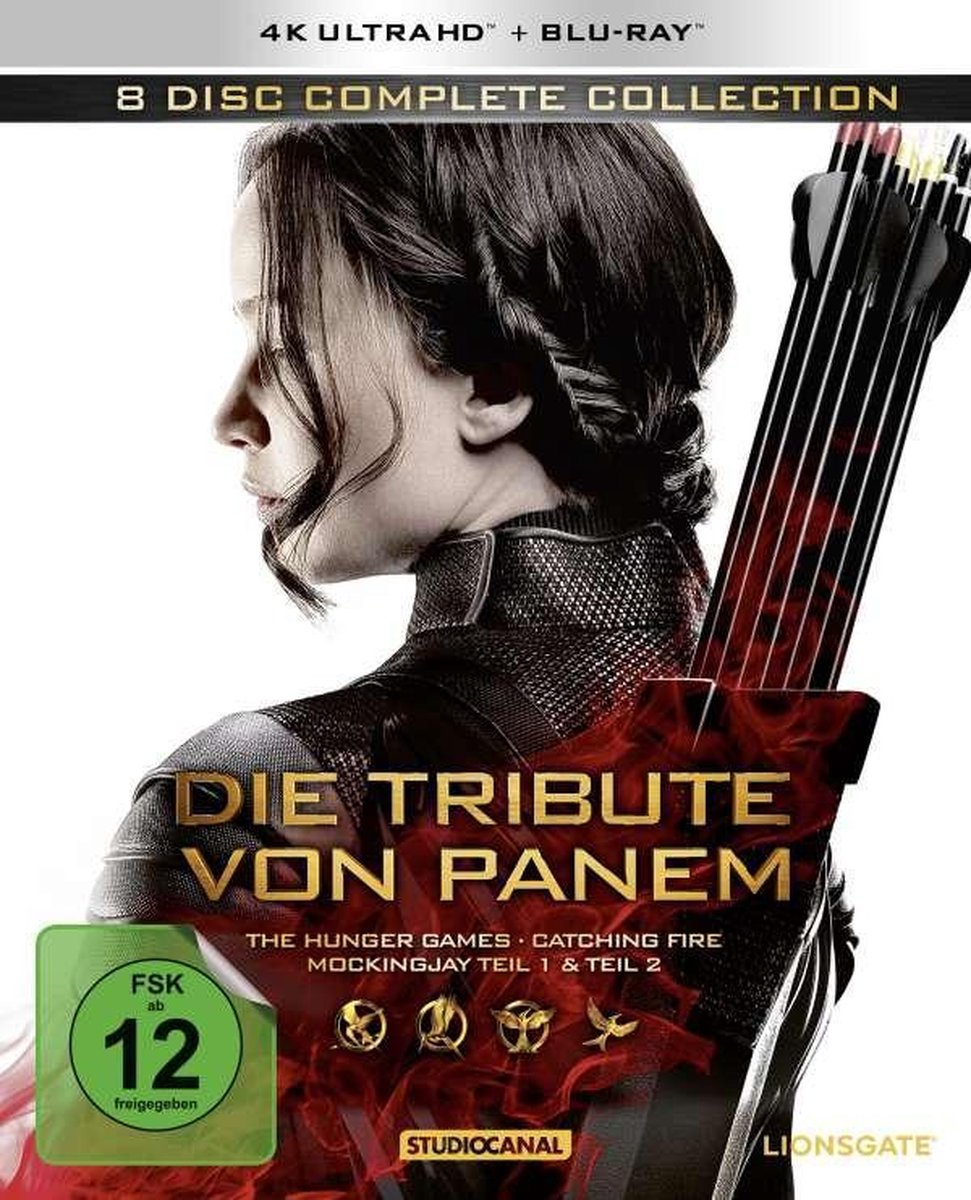 Die Tribute von Panem (Complete Collection) (Ultra HD Blu-ray & Blu-ray)-